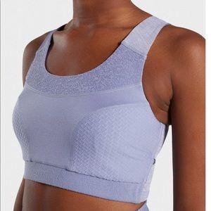 NWT Gymshark True Texture Sports Bra